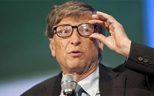 Tỷ phú Bill Gates, người mất 3,2 tỷ USD trong đêm 24/8.<br>