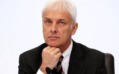 Ông Matthias Mueller, tân Giám đốc điều hành Volkswagen - Ảnh: Getty/CNBC.<br>