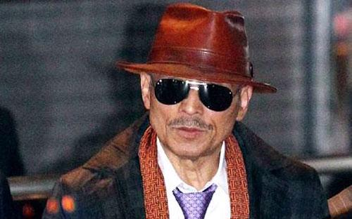 Thủ lĩnh Shinobu Tsusaka của băng đảng mafia Nhật Bản Yamaguchi-gumi.<br>