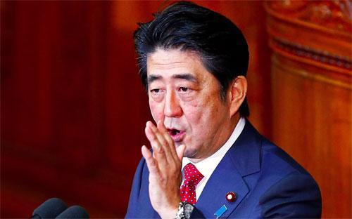 Thủ tướng Nhật Bản Shinzo Abe - Ảnh: Reuters.<br>