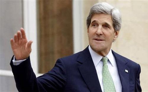 Ngoại trưởng Mỹ John Kerry.<br>