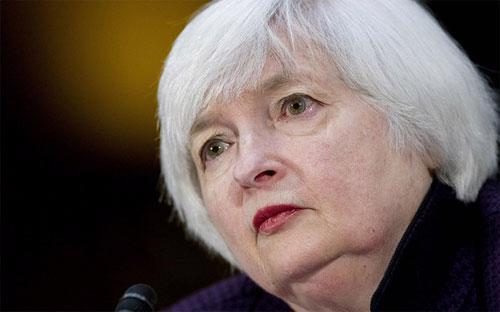 Chủ tịch Cục Dự trữ Liên bang Mỹ (FED) Janet Yellen - Ảnh: MarketWatch/Bloomberg.<br>