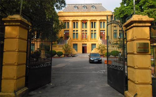 Trụ sở Tòa án Nhân dân Tối cao tại Hà Nội.<br>