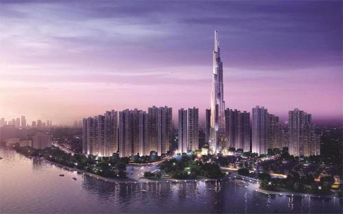 Các cao ốc tại The Landmark là những tòa nhà đầu tiên thuộc dự án Vinhomes Central Park sở hữu tầm nhìn toàn cảnh thành phố và sông Sài Gòn từ tất cả các hướng.