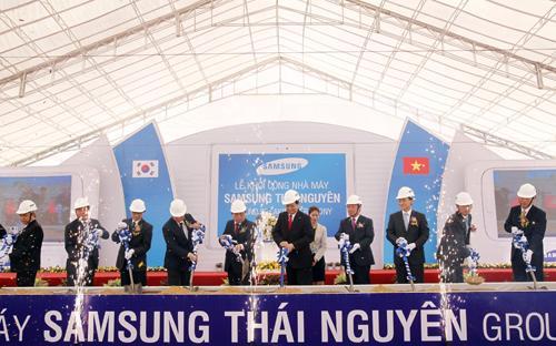 Lễ động thổ khu phức hợp SEVT tại Thái Nguyên.