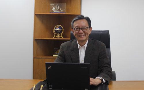 Ông Leonard Tan, Tổng giám đốc công ty DKSH Việt Nam.
