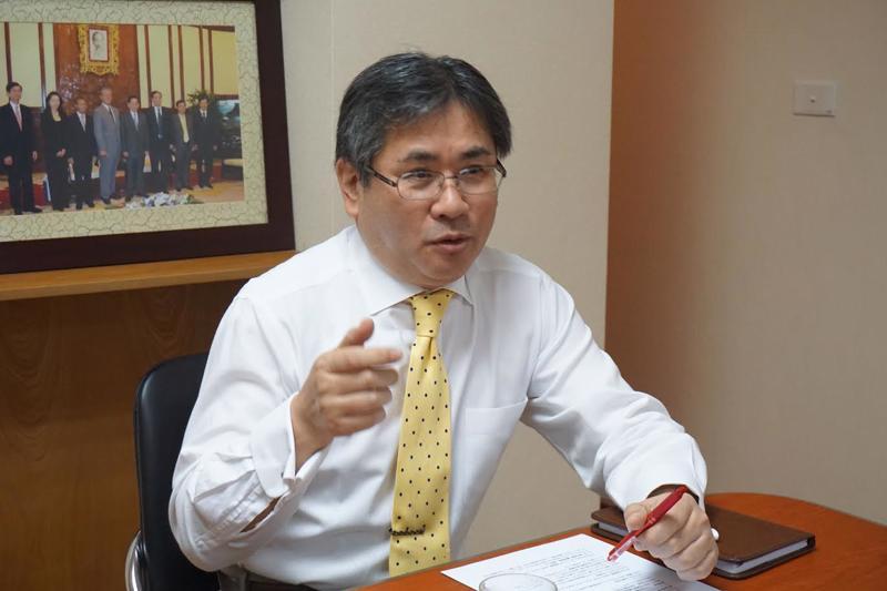 Tổng giám đốc Công ty Cổ phần Chứng khoán Nhật Bản (JSI) Atsuhiko Haruyama.