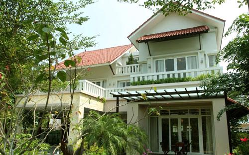 Tiến độ thanh toán khi mua biệt thự Xanh Villas gồm 5 đợt trong 2 năm.