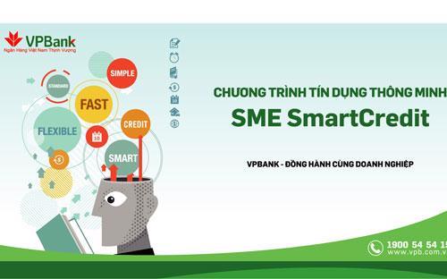 Chương trình SmartCredit sẽ chấp nhận đa dạng các loại tài sản đảm bảo như hàng hóa và quyền đòi nợ.