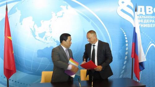 Thỏa thuận được ký kết trong khuôn khổ kỳ họp lần thứ 17 của Ủy ban Liên  chính phủ Việt Nam - Liên bang Nga về hợp tác kinh tế thương mại và  khoa học kỹ thuật.