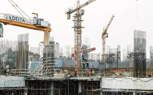 Goldmark City tọa lạc tại phía Tây Bắc Hà Nội, có mật độ xây dựng chỉ  23,3%.