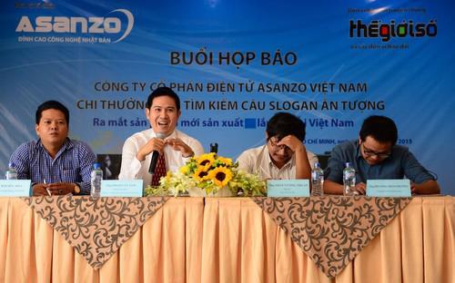 Asanzo Việt Nam đã phát động cuộc thi sáng tác câu khẩu hiệu (Slogan)  chính thức từ ngày 19/8/2015 và kết thúc từ ngày 3/10/2015.