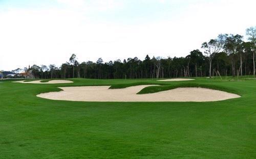 Dự kiến, tổ hợp sân golf này sẽ được xây dựng dọc bờ biển từ thành phố  Đồng Hới lên hai huyện Quảng Ninh và Lệ Thủy, với tổng diện tích khoảng 1.000  ha - Ảnh minh hoạ.