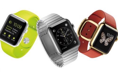 Hình ảnh 3 mẫu Apple Watch.