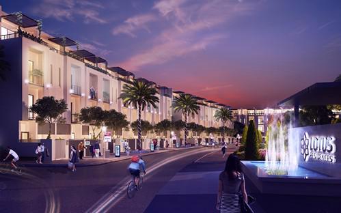 Đây được coi là khu đô thị du lịch có diện tích lớn và hiện đại bậc nhất Quảng Ninh.