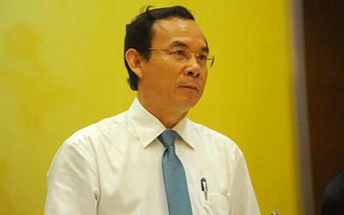 """Bộ trưởng Nguyễn Văn Nên: """"Phát hành trái phiếu lần này chỉ như vay để đảo nợ thôi""""."""