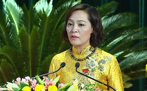 Bí thư Tỉnh uỷ Ninh Bình Nguyễn Thị Thanh là một trong số ít phụ nữ đứng đầu đảng bộ tỉnh, thành.<br>
