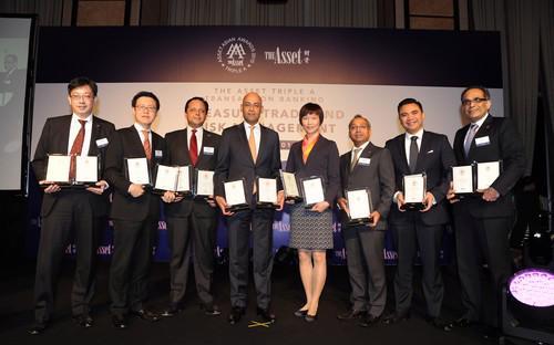 Giải thưởng Triple A của tạp chí The Asset được xem là một trong những giải thưởng danh giá về tài chính, ngân hàng của khu vực châu Á.