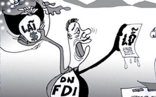 Trong một báo cáo của Tổng cục Thuế hồi đầu năm cho thấy, trong năm 2013 doanh nghiệp FDI báo lỗ 68.203 tỷ đồng - Ảnh minh họa.<br>