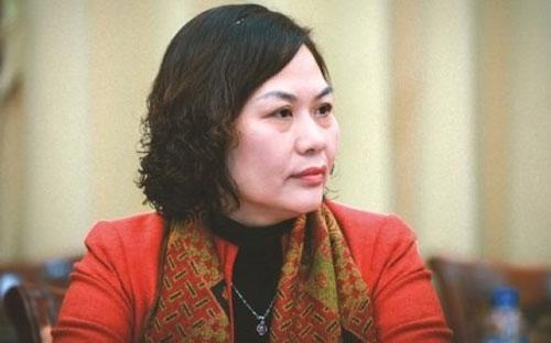 <b> </b>Bà Nguyễn Thị Hồng, Vụ trưởng Vụ Chính sách tiền tệ.