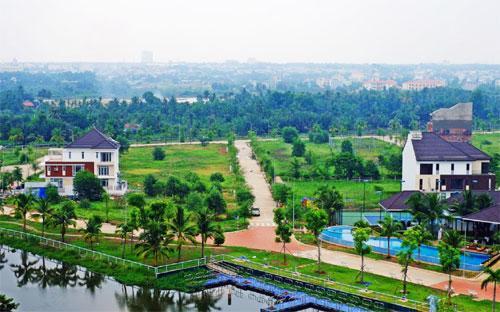 Một góc dự án Jamona Home Resort.<br>