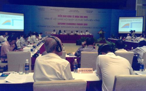 Diễn đàn Kinh tế Mùa thu khai mạc sáng 27/8 tại Sầm Sơn, Thanh Hóa.<strong><br></strong>
