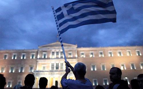 """Các quan chức Liên minh châu Âu đang tính tới một cơ chế để tạo """"hàng rào"""" quanh  Hy Lạp cả về chính trị và kinh tế trong trường hợp nước này rời khỏi EU."""