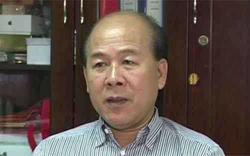 Thứ trưởng Bộ Giao thông Vận tải Nguyễn Văn Công.
