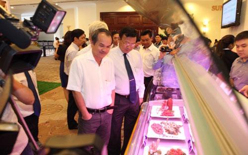 Hiện thịt bò của HAGL sẽ được bán với giá 320.000 đồng/kg, rẻ hơn thị trường 8.000 đồng/kg.