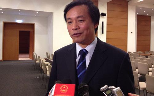 Chủ nhiệm Văn phòng Quốc hội Nguyễn Hạnh Phúc.<strong> </strong>