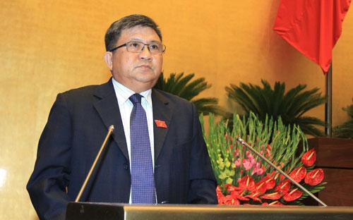 Chủ nhiệm Ủy ban Kinh tế Nguyễn Văn Giàu.