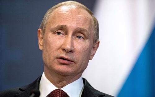 Tổng thống Nga Vladimir Putin - Ảnh: Bloomberg.