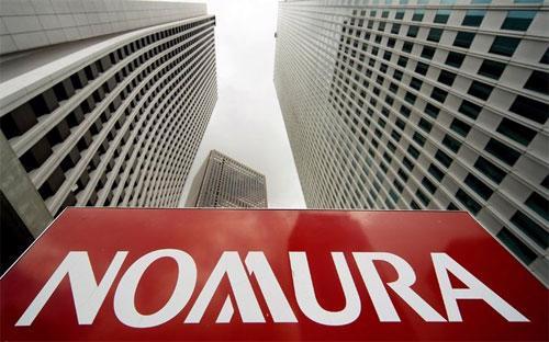 Trụ sở Nomura ở Tokyo - Ảnh: EPA.