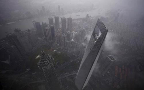 Một góc thành phố Thượng Hải, Trung Quốc - Ảnh: Reuters.<br>