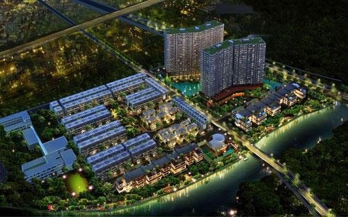 Phối cảnh dự án Jamona City.