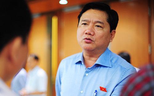 Bộ trưởng Bộ Giao thông Vận tải Đinh La Thăng - Ảnh: VnExpress.<strong><br></strong>