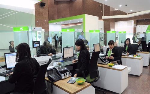 Theo báo cáo tài chính, trong quý công bố, Vietcombank chưa bán lại một  đồng nào nợ xấu cho Công ty Quản lý tài sản các tổ chức tín dụng Việt  Nam (VAMC).