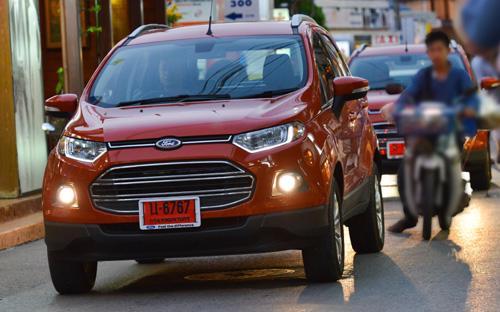 EcoSport có khả năng xoay trở rất tốt trong điều kiện giao thông đô thị chật hẹp.<br>