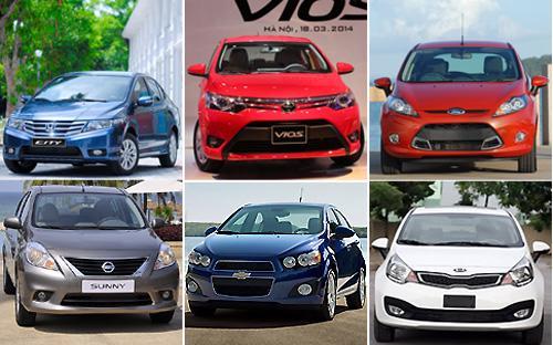 Tính từ sau thời điểm Toyota Việt Nam ra mắt Vios mới,  phân khúc này sẽ có sự góp mặt của rất nhiều mẫu xe và đều đến từ các  thương hiệu lớn