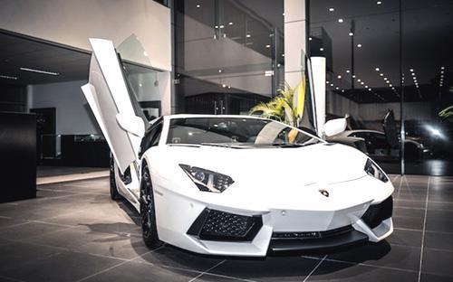 """Hồi cuối tháng 12/2014, bộ đôi """"siêu bò"""" này đã được nhập khẩu nguyên  chiếc về Việt Nam để chuẩn bị cho sự kiện chính thức ra mắt thương hiệu  Lamborghini."""