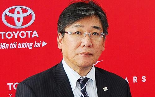 Ông Yoshihisa Maruta, Tổng giám đốc Công ty Ôtô Toyota Việt Nam.<br>