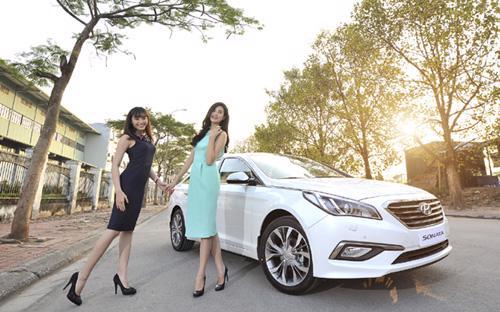 Sonata 2015 được Hyundai Thành Công nhập khẩu nguyên chiếc từ Hàn Quốc.