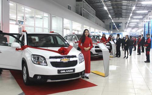 Tính đến thời điểm này, GM đã có 16 đại lý Chevrolet tiêu chuẩn trên toàn quốc.