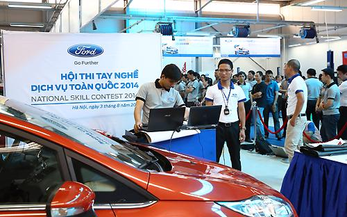 Tất cả các đại lý ủy quyền của Ford Việt Nam đều đạt chuẩn Quality Care  toàn cầu và tiêu chuẩn này được hỗ trợ bởi hệ thống đào tạo dịch vụ từ  tập đoàn với các quy trình đánh giá hàng ngày, đào tạo định kỳ và thi  kiểm tra lên bậc.