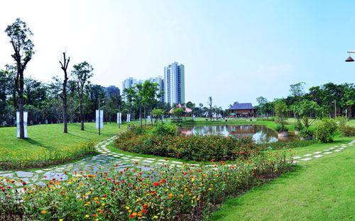 Giai đoạn 1 của khu đô thị Ecopark đã đi vào hoạt động từ đầu năm 2013.<br>