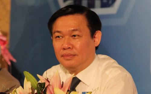 Trưởng ban Kinh tế Trung ương Vương Đình Huệ - Ảnh: Nhật Bình.<br>