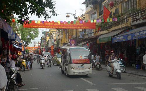 Khung giá đất 81 triệu đồng/m2 tại Hà Nội đang được áp dụng cho các tuyến phố Hàng Ngang, Hàng Đào, Lý Thái Tổ.<br>
