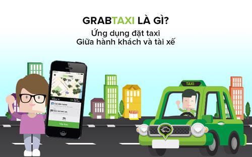 Chỉ cần có trong tay một chiếc smartphone, khách hàng có thể tải ngay ứng dụng GrabTaxi trên kho ứng dụng theo từng hệ điều hành.