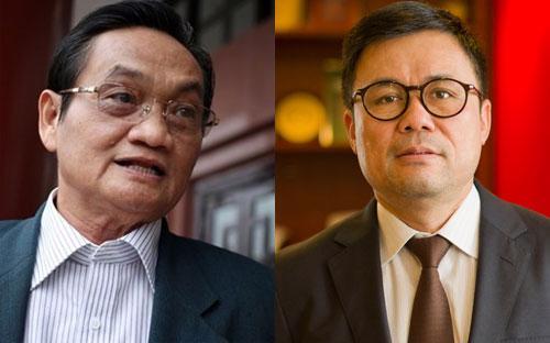 Ông Trần Du Lịch và ông Nguyễn Duy Hưng.
