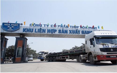 Lần đầu tiên, thép Hòa Phát cán mốc trên 150.000 tấn/tháng trong tháng  3/2015.